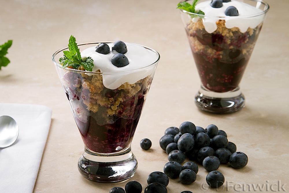 Blueberry Crisp by D Fenwick, http://dfenwickphotography.com