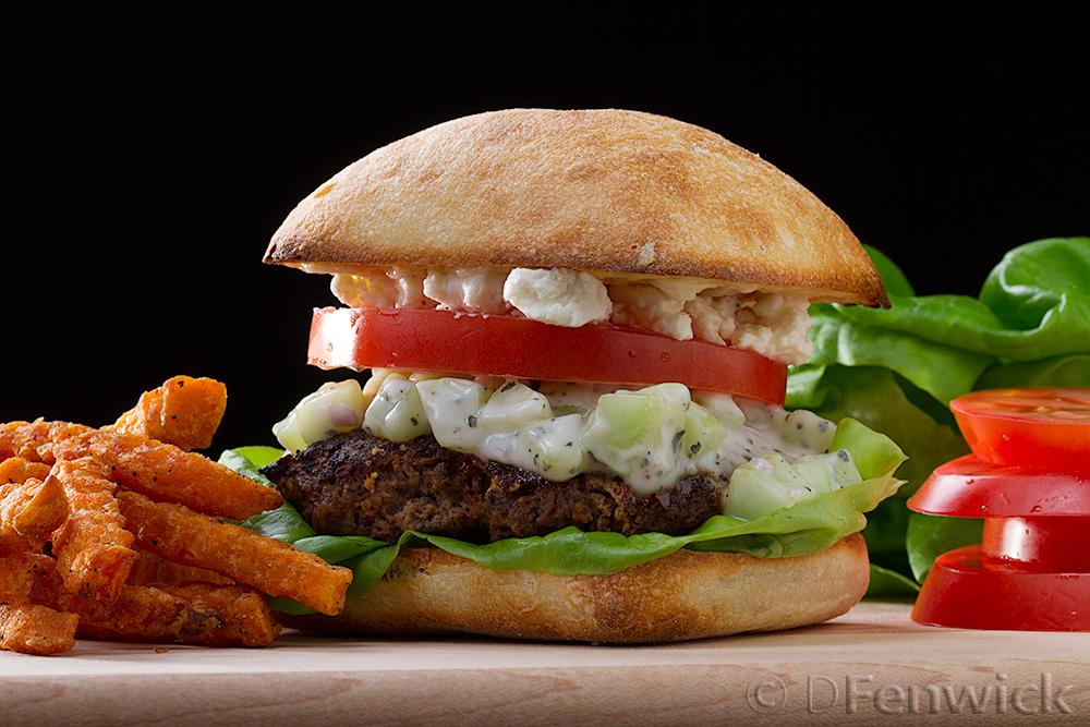 Lamb Burger by D Fenwick, http://dfenwickphotography.com
