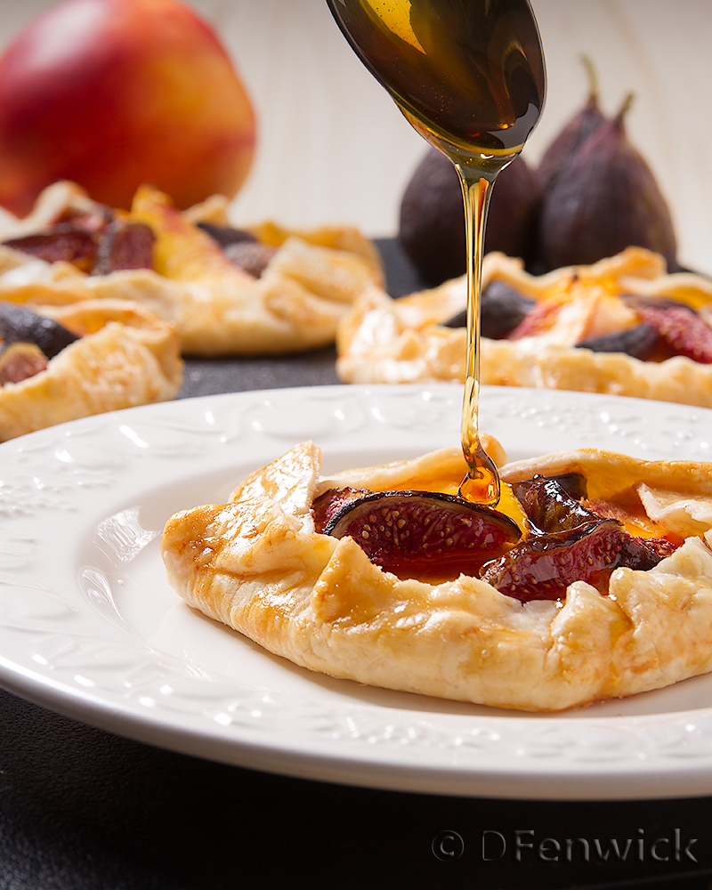 Fig and Nectarine Tart by D Fenwick, http://dfenwickphotography.com