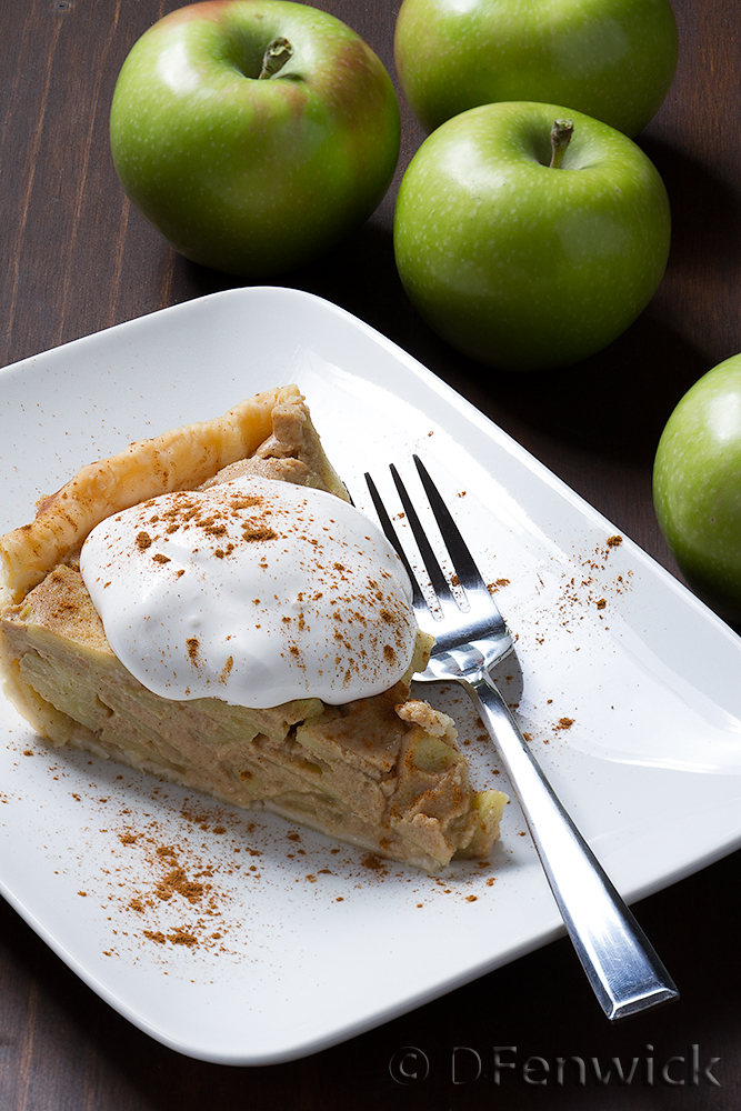 Apple Custard Pie by D Fenwick, http://dfenwickphotography.com