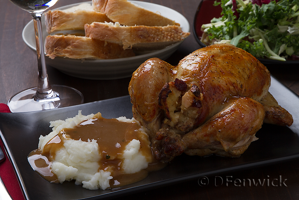 Thanksgiving Dinner for Two by D Fenwick, http://dfenwickphotography.com